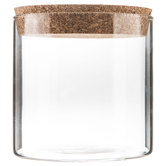 Cylinder Glass Jar - Wide